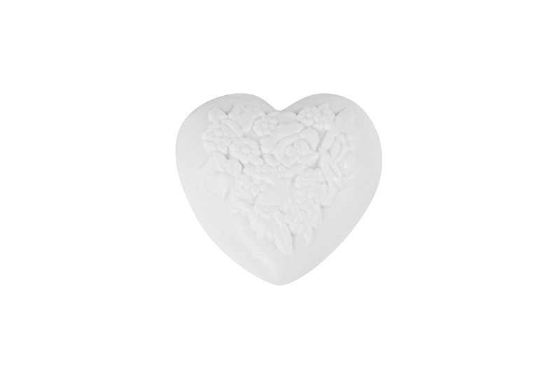 #62430-Heart with Flowers-80g